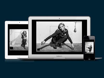 CREARE // Fashion Website label fashion website
