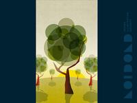 Daytime Trees Illustration