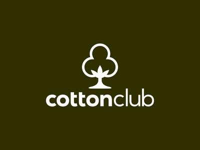 Cotton Club cotton green logo outdoor bar cotton club