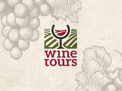 Wine Tours graphic design vineyard easternblock logo tourism wine
