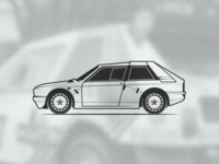 Lancia Delta S4 illustration (part 2)