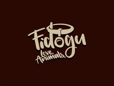 Fidogu leash identity logo photographer pet fidogu