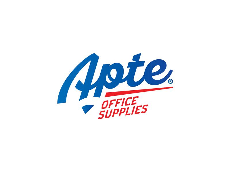 Apte Office Supplies easternblock.ro office corporate design logo