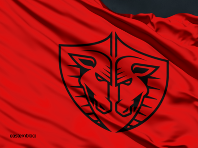 Beasts of One Nation logo heraldic shield ram bestii