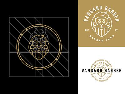 Vangard Barber Shop exhibition design advertising barber shop barber web design social media campaign social media design graphic design branding
