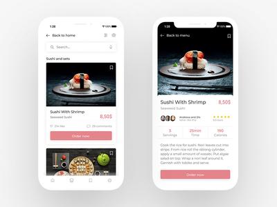 Sushi App — Concept