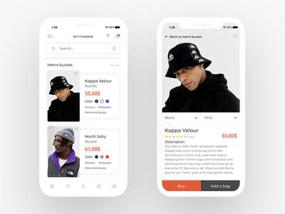 E-Commerce App — Concept