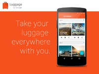 Luggage ad
