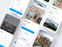 Real Estate UI iOS Application