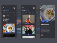 Photo App Design First View📸