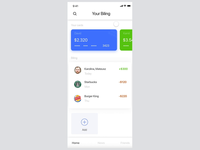 MyWallet iOS App Design