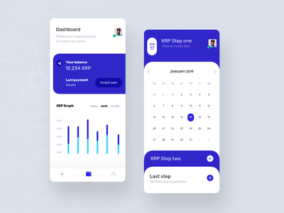 Crypto investments crypto coin investment cryptocurrency fireart studio fireart mobile app clean design app design ux ui