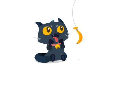 喵喵~ illustrator miao cat