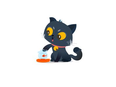 喵喵~ illustrator cat