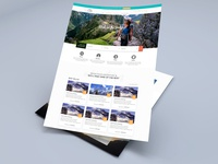 Website Concept Design for Travel Company