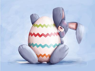 Easter easter rabbit egg holidays