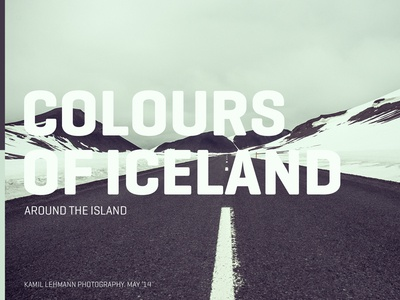 Colours of Iceland - Cover iceland cover photo colours island photography album blog trip