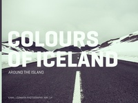 Colours of Iceland - Cover