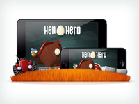 Hen Hero - Game Mock-Up
