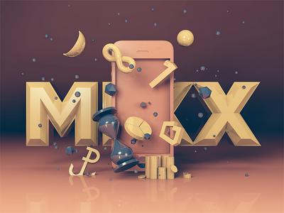 Lemon Sky - AR infographic augmented reality mixx awards iphone lemon sky mobile infographic