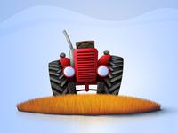 Hen Hero - Tractor