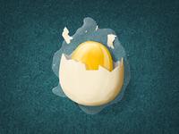 Hen Hero - Broken egg