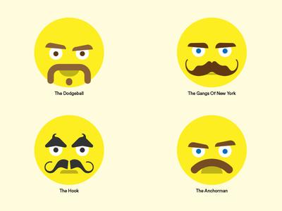 e-Mo-ji's (Movember 2017)