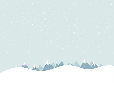 Let It Snow! snow backgrounds sketch