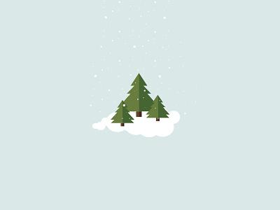 Selective Snow snow sketch christmas tree christmas