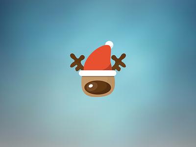 Santa's reindeer reindeer christmas vector jul