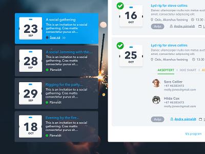 Mobilise task assigning personnel tracking event management system