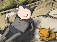 Cat and Batman