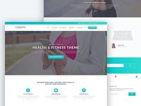 Fitness Pro WordPress Theme