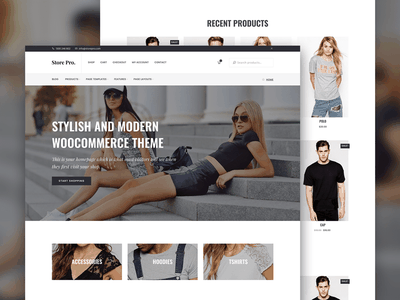 Store Pro - WooCommerce & Genesis theme template theme web design genesis framework ecommerce woocommerce wordpress