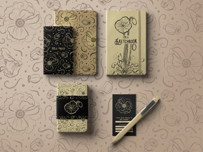 Field Notes notebook stationery design stationery design illustration digital