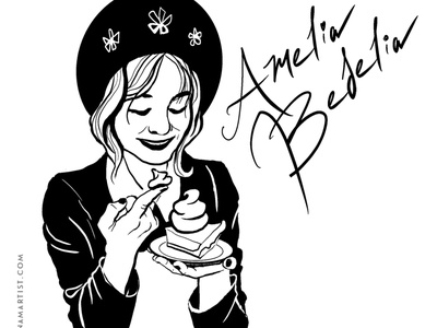 Amelia Bedelia character design illustration inktober2020 inktober amelia bedelia childrens book