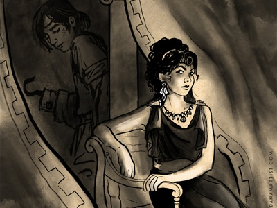 Eugenides and the Queen of Attolia challenge inktober2020 inktober characters books literature