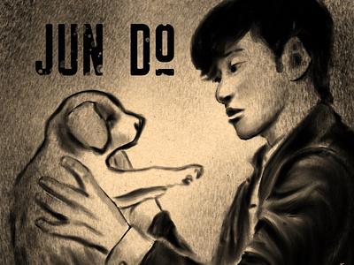 Pak Jun Do drawing dogs character design books illustration sketch digital inktober2020 inktober