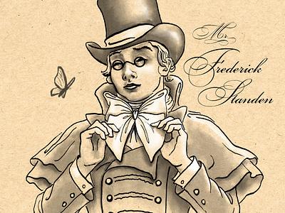 𝗙𝗿𝗲𝗱𝗱𝘆 𝗦𝘁𝗮𝗻𝗱𝗲𝗻 drawing ink drawing literature inking ink books character design sketch inktober2020 inktober illustration