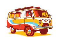 USSR Hippie Van