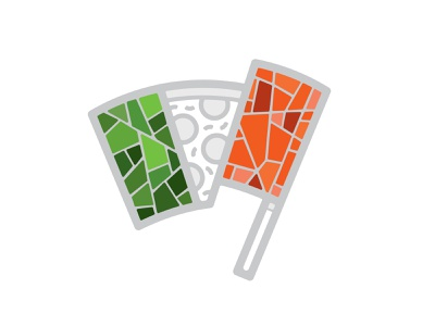 Pizza Flag 📌 Logo for Sale architecture flagpole floor ornamental logo bar cafe restaurant antique roman marble delivery fast food pizzeria red green mosaic flag pizza