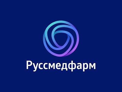 Rusmedfarm whirl tape strip round pharmacy pharmaceutical mobius medicine drugs circle