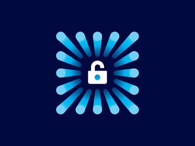 Hi-Tech Security 📌 Logo for Sale logo bitcoin crypto payments digital electronic processor computer technology safeguard firewall microcircuit chip protection system key lock hi-tech security
