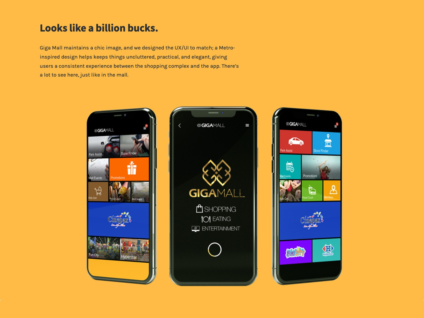 Gigamall App Design by Muhammad Shehroz on Dribbble