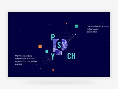PsychX86 Website sections typography about minimal muzli ux ui mobile responsive website roy suvo dribbble landing page
