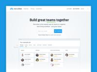 Recruitee Website Redesign