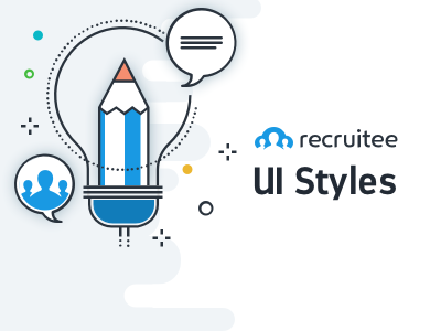 Recruitee UI Style Guide atomic system colors style guide guide ui kit style guides recruitee