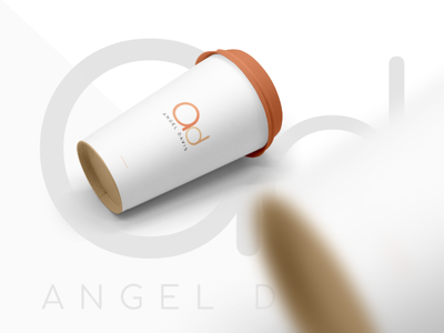ANGEL DAVIS | Branding minimal flat icon typography vector logo illustration ui design branding