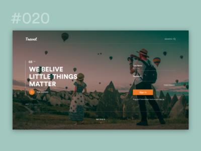 Web Design Speed ART #020