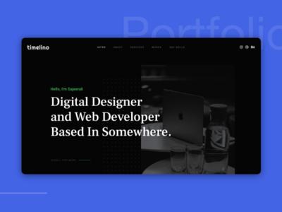 Timelino - Portfolio Website